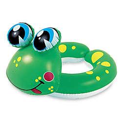 Pool Central Frog 24-Inch Split Ring Inner Tube Float in Green