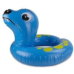 Pool Central Sea Lion Split Ring Pool Inner Tube in Blue