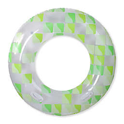 Pool Central Fashion Mosaic Pool Inner Tube in Green