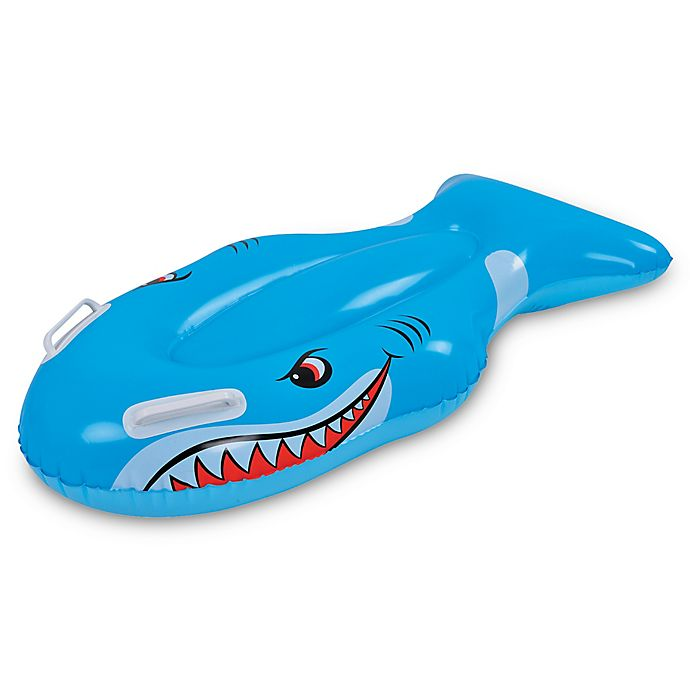 Alternate image 1 for Pool Central Shark Kickboard Pool Float in Blue