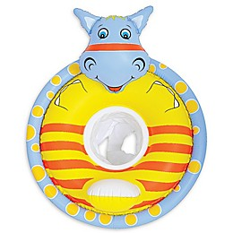 Pool Central 31-Inch Hippo Baby Seat Pool Float