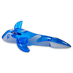 Pool Central Whale Rider Pool Float in Blue