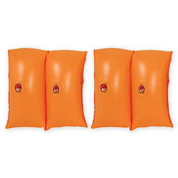 Pool Central 2-Piece Arm Floats in Orange