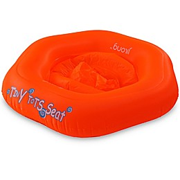 Pool Central Swirl 29-Inch Inflatable Swimming Pool Baby Seat Float in Blue/White/Red