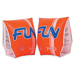 Pool Central Fun Pool Arm Floats in Orange (Set of 2)