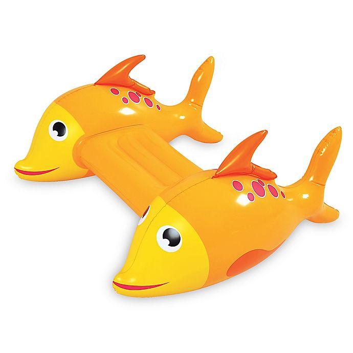 Alternate image 1 for Pool Central Dorado Fish Kickboard Pool Float