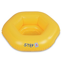 """Pool Central 26-Inch """"Step A"""" Baby Seat Pool Float in Yellow"""