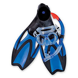 Pool Central Scuba Dive Set in Blue