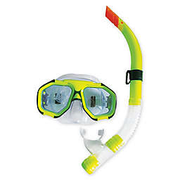 Pool Central Scuba Mask Dive Set in Green