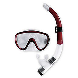 Pool Central Scuba Mask Dive Set in Red
