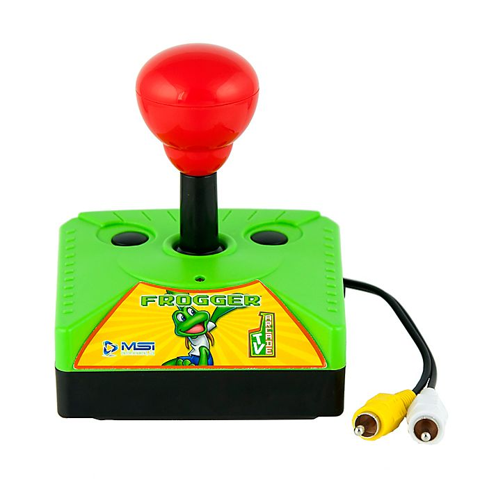 Alternate image 1 for MSI Plug N Play Frogger Classic TV Arcade Game