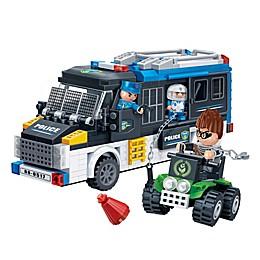 BanBao Police Van Building Set