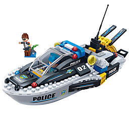 BanBao Police Speedboat Building Set