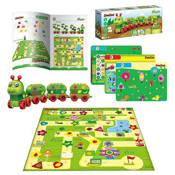Alternate image 1 for BanBao Caterpillar Fruits Building Set