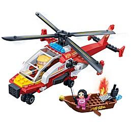 BanBao Fire Rescue Chopper Building Set