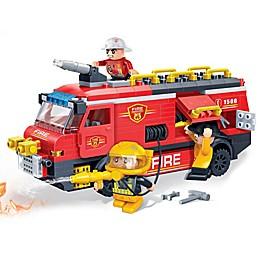 BanBao Fire Rescue Team Building Set