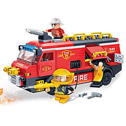 BanBao Fire Rescue Team Building Set