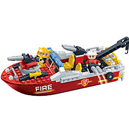 BanBao Fire Boat Building Set