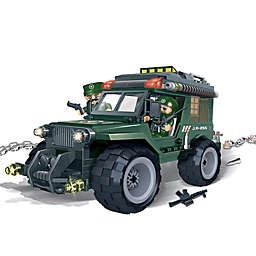 BanBao World Defense Force Military Jeep Building Set