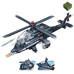 BanBao 3-in-1 Helicopter Building Set