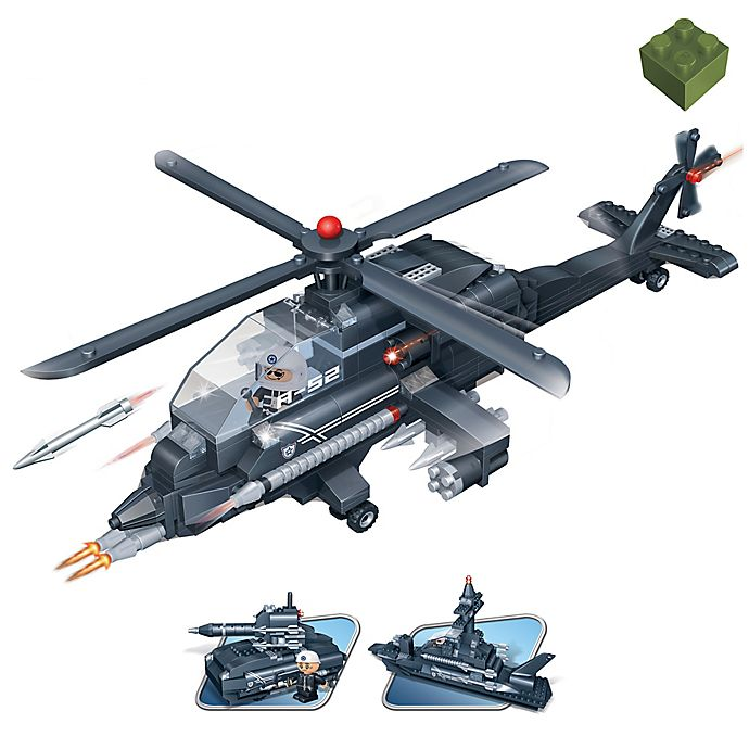 Alternate image 1 for BanBao 3-in-1 Helicopter Building Set