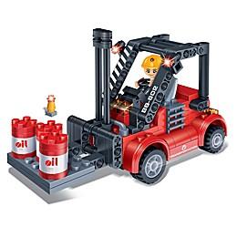 BanBao Forklift Building Set
