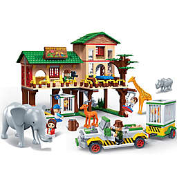 BanBao Safari Ranch Building Set