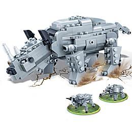 Banbao Ancient Rhino Building Set