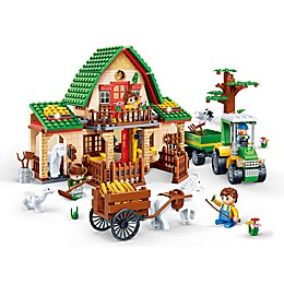 BanBao Farm City Building Set