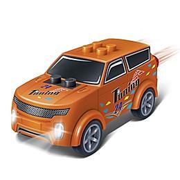 BanBao Mini Pullback Nenoot Racer Building Set in Orange