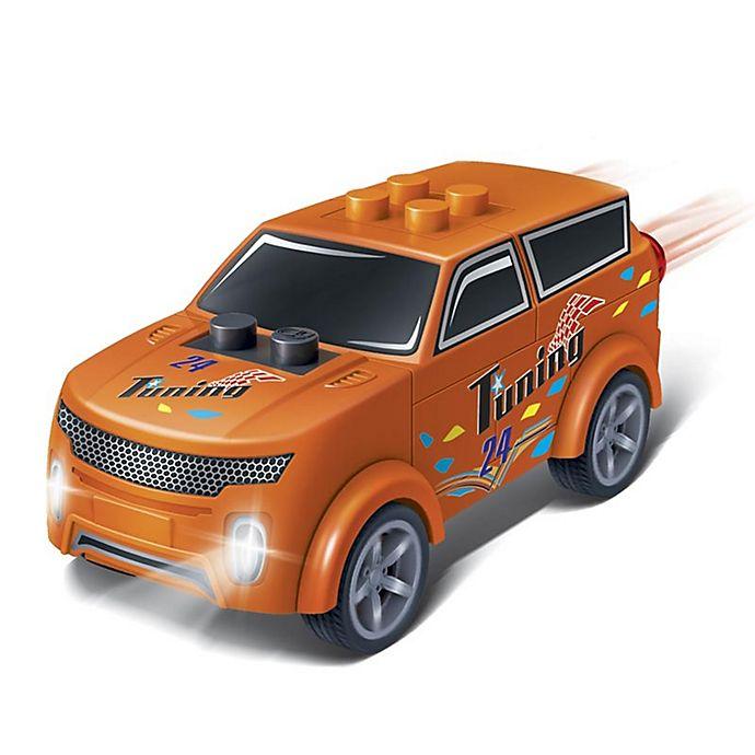 Alternate image 1 for BanBao Mini Pullback Nenoot Racer Building Set in Orange