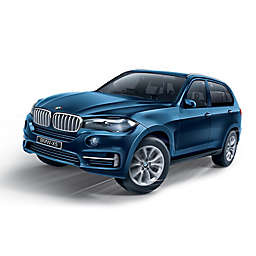 BanBao BMW X5 Mini Pullback Car Building Set in Blue