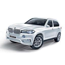 BanBao BMW X5 Mini Pullback Car Building Set  in White