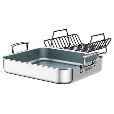 Zwilling® J.A. Henckels Ceramic Stainless Steel Roasting Pan