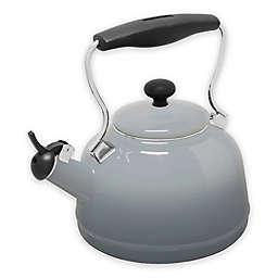 Chantal® 1.7 qt. Lake Tea Kettle in Grey