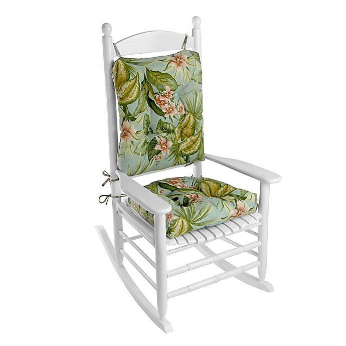 Klear Vu Jamaica Easy Care 2 Piece Rocking Chair Pad Set