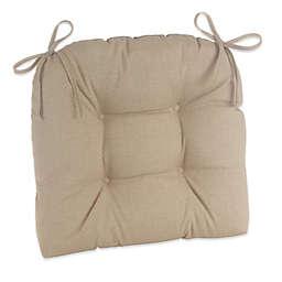 Klear Vu Husk Easy Care Outdoor XL Chair Cushion in Tan