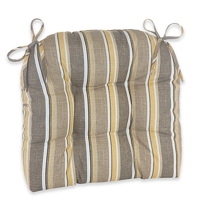 Awe Inspiring Klear Vu Brady Stripe Easy Care Outdoor Xl Chair Cushion In Squirreltailoven Fun Painted Chair Ideas Images Squirreltailovenorg