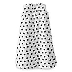 HALO® SleepSack® Fleece Small Plus Signs Wearable Blanket in White/Black