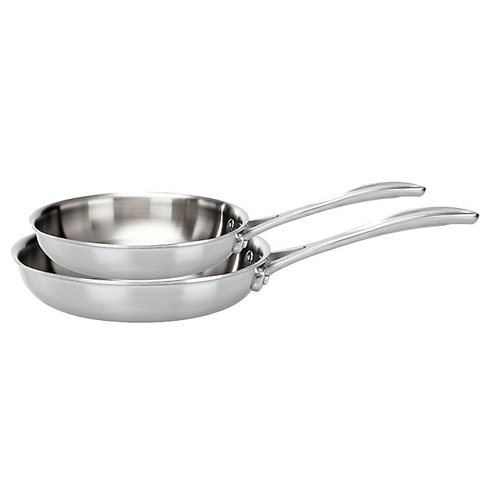 Alternate image 1 for Zwilling® J.A. Henckels Spirit 2-Piece Stainless Steel Fry Pan Set