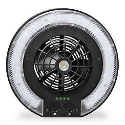 Caravan® Sports 3-in-1 Disc Fan Light in Black