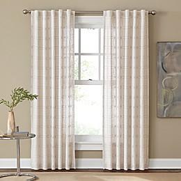 Cambria® Santorini Rod Pocket/Back Tab Window Curtain Panel