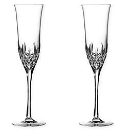Waterford® Lismore Essence Toasting Flutes (Set of 2)