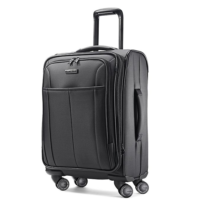 Alternate image 1 for Samsonite® Signify 20-Inch Spinner Carry-on Luggage in Charcoal