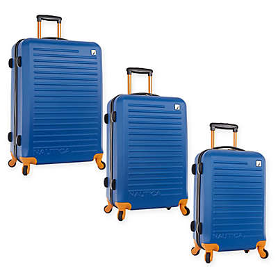 Nautica® Tide Hardside Spinner Luggage In Blue