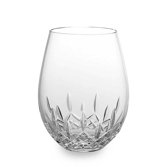 Waterford 174 Lismore Nouveau Stemless Crystal 18 Oz Deep