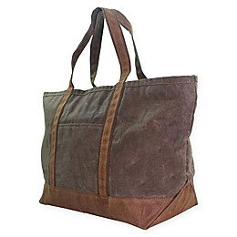CB Station 14-Inch Waxed Canvas Large Boat Tote