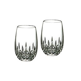 Waterford® Lismore Nouveau Stemless Crystal 8 oz. White Wine Glasses (Set of 2)