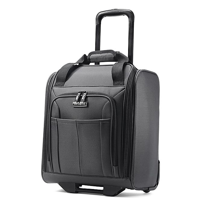 Alternate image 1 for Samsonite® Signify 15-Inch Upright Underseat Luggage in Charcoal