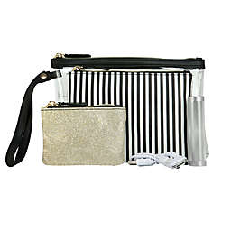Under One Sky 4-Piece Clutch and Charger Set